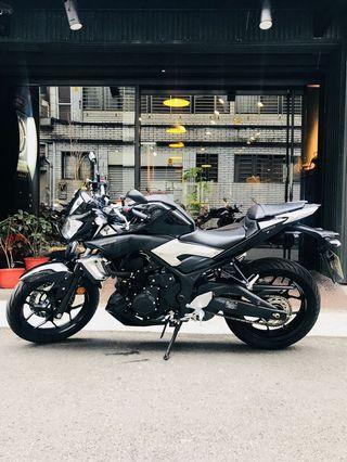 2015年 Yamaha MT-03 總代理 只跑兩千多公里 滿18可分期 免頭款 歡迎車換車 網路評價最優 業界分期利息最低 街車 黃牌 R3 Z300 CB300R 可參考