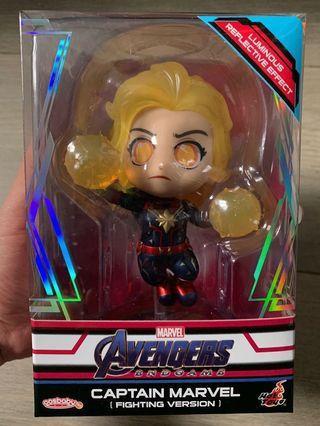 Hottoys Captain Marvel (戰鬥版) cosbaby Avengers 4 Endgame 復仇者聯盟 終局之戰