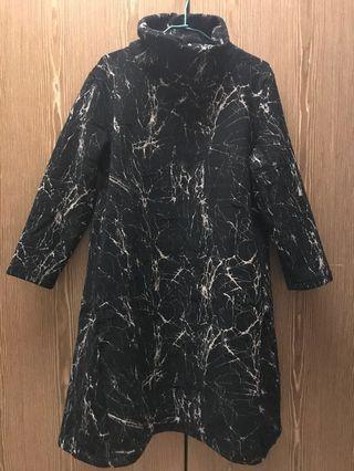 🚚 冬季高領長洋裝FREE SIZE內裡刷毛保暖