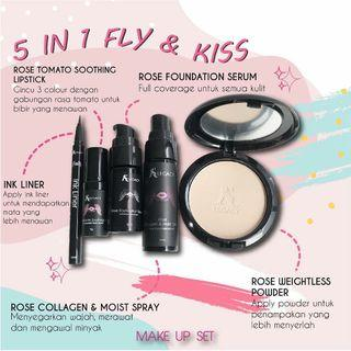 set 5 in 1 Fly and Kiss