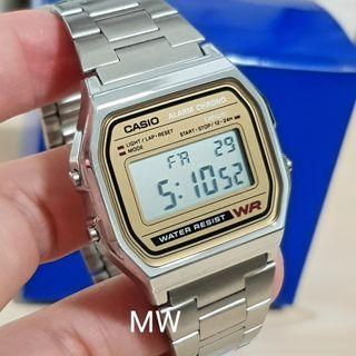 🚚 Casio original ladies men unisex digital vintage watch a158wa-9 brand new