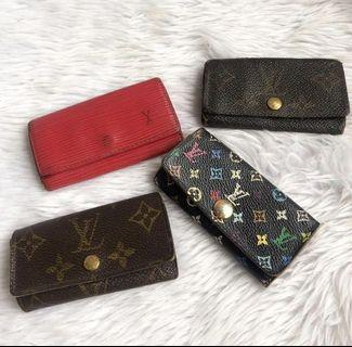 100% authentic LV key holders