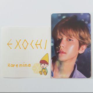 2019 EXO SEASON'S GREETINGS (BAEKHYUN PHOTOCARD)