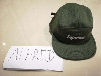 16ec7eb8543 Supreme wool camp cap