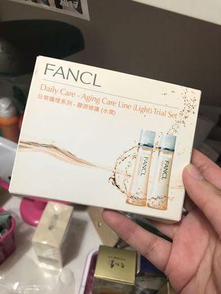 Fancl 試用裝