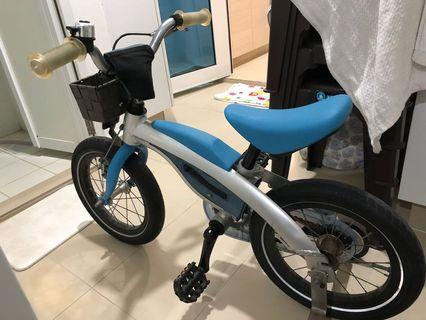 Used BMW kids bicycle