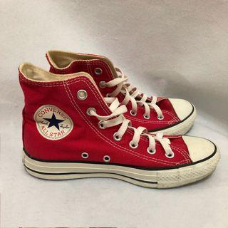 Converse Chuck Taylor All Star Classic Colour High Top Red