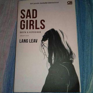 Novel Sad Girls by Lang Leav