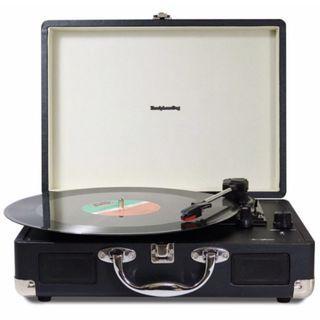 Headphone Dog黑膠唱盤播放器 內建立體音喇叭(多贈送一個唱針可以後更換)