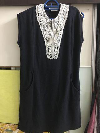 One piece short dress