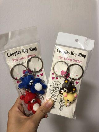 🚚 Couple Keychain