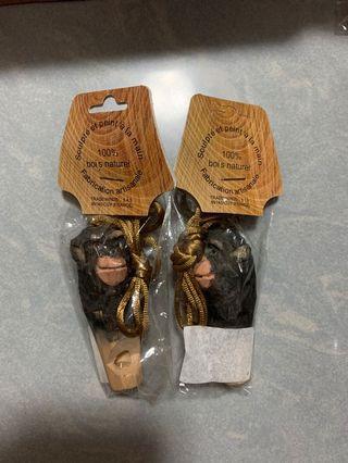 猩猩 猴子 馬騮 木笛 木製笛子