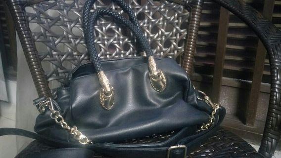 Black Classy Handbag untuk di letgo murmur