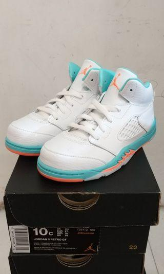 AIR JORDAN RETRO 5 KIDS SHOES