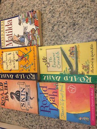 Roald Dahl - 5 books
