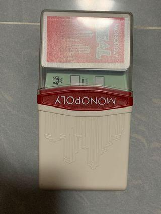 Monopoly 大富翁 deal 紙牌遊戲 card game 連洗牌器