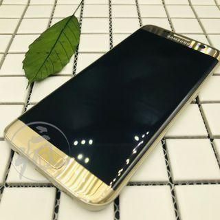 SAMSUNG GALAXY S7 edge金色32GB/中古空機/店家保固7天<SAM059630>