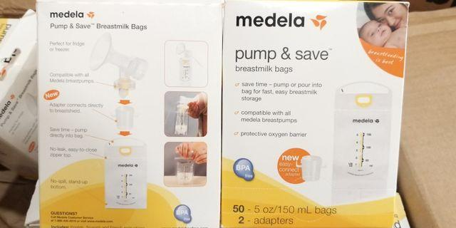 medela pump & save breastmilk bags 50pcs/box