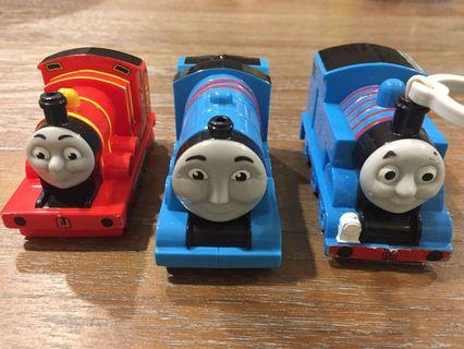 McDonald's Thomas Trains (set of 3)