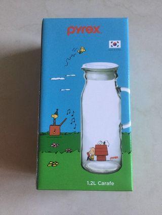 Snoopy Carafe & Mug Set