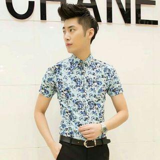 Floral Hawaii Shirt