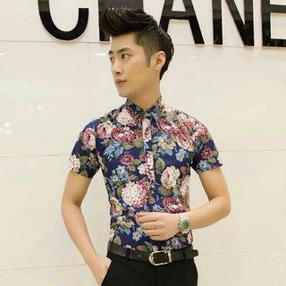 Batik Floral Shirt