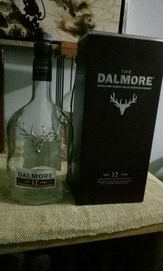 🚚 The DALMORE empty bottle