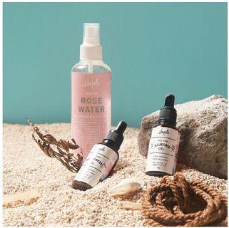 TAKE ALL Haple Oily Skin Set Rose Water Almond Oil Grapeseed Oil Licorice Water