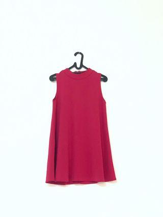 Mini Dress Fuschia