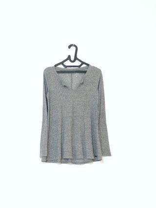Long tshirt grey