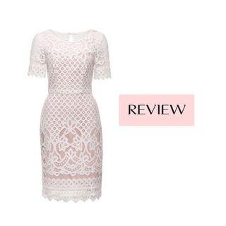 REVIEW   Beautiful Devotion Lace Dress