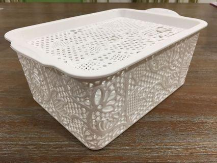 Storage Container / Lace Basket