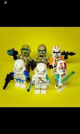 Jek-14 set - Star Wars Lego Inspired Mini Figures