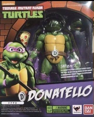 Bandai SHF Teenage Mutant Donatello 忍者龜 多納太羅