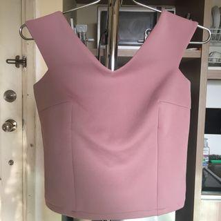 NUDE PINK TOP REPRICE