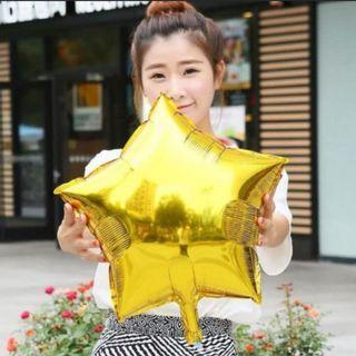 """🌟 Foil Star Balloons (18""""/45cm) 🌟"""