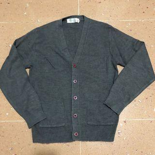 灰色冷外套 unisex grey sweater jacket