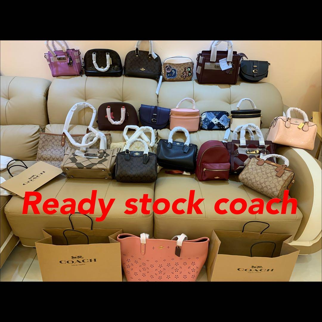 (21/04/19)Authentic Coach women bag backpack Tory Burch clutch sling bag ready stock listing camera bag