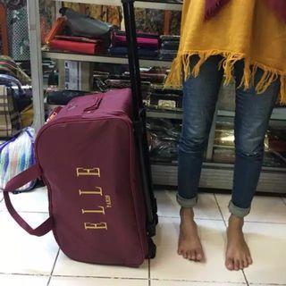 Travel bag elle new murah free ongkir