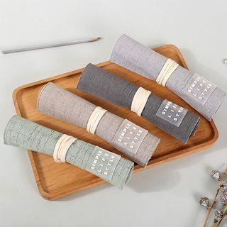 Simple Lifestyle Roll Up Pencil Case