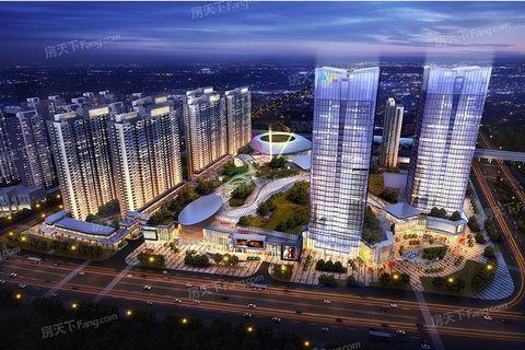 高鐵上蓋物住宅60萬千呎單位