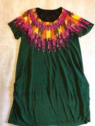 Jersey Indian dress
