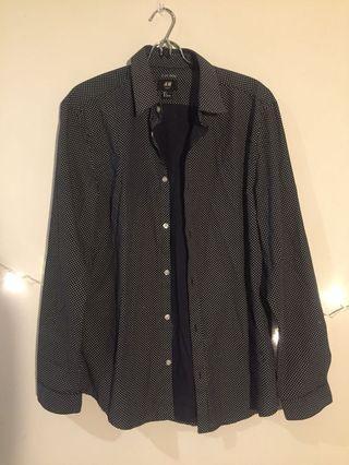 H&M Polkadot Shirt