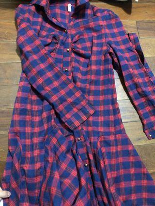 🚚 蘇格蘭風連身裙