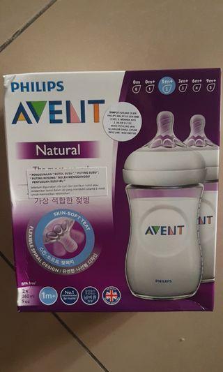 Avent natural bottle for 3 mths