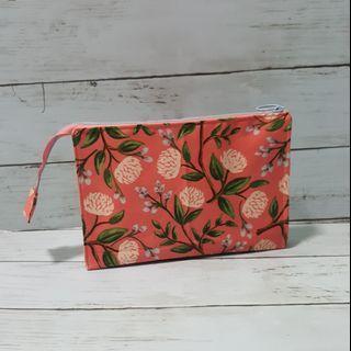 Handmade twin pouch