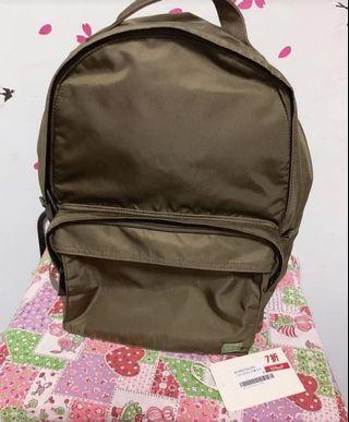 SONJZ 防水墨綠色背包 書包 電腦包 背囊 旅行袋