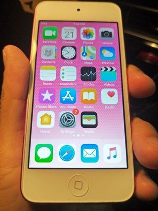 Ipod touch 6th gen 64gb pink swap