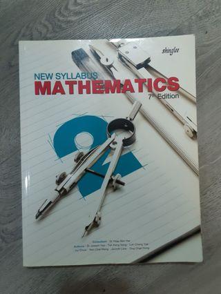 🚚 Sec 2 Math Textbook
