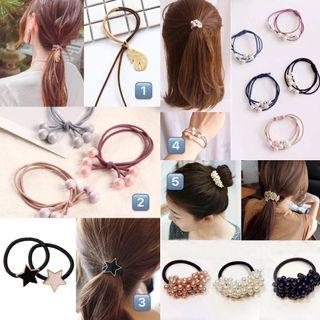 1 for $4! New arrival! Women's assorted accessories. Earrings, hair ties and bracelets! #endgameyourexcess